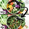 Salad Chopper Blade and Bowl – Stainless Steel Salad Cutter Bowl with Chef Grade Mezzaluna Salad Chopper – Ultra-Fast Salad Prep by Kitchen Hackables #3