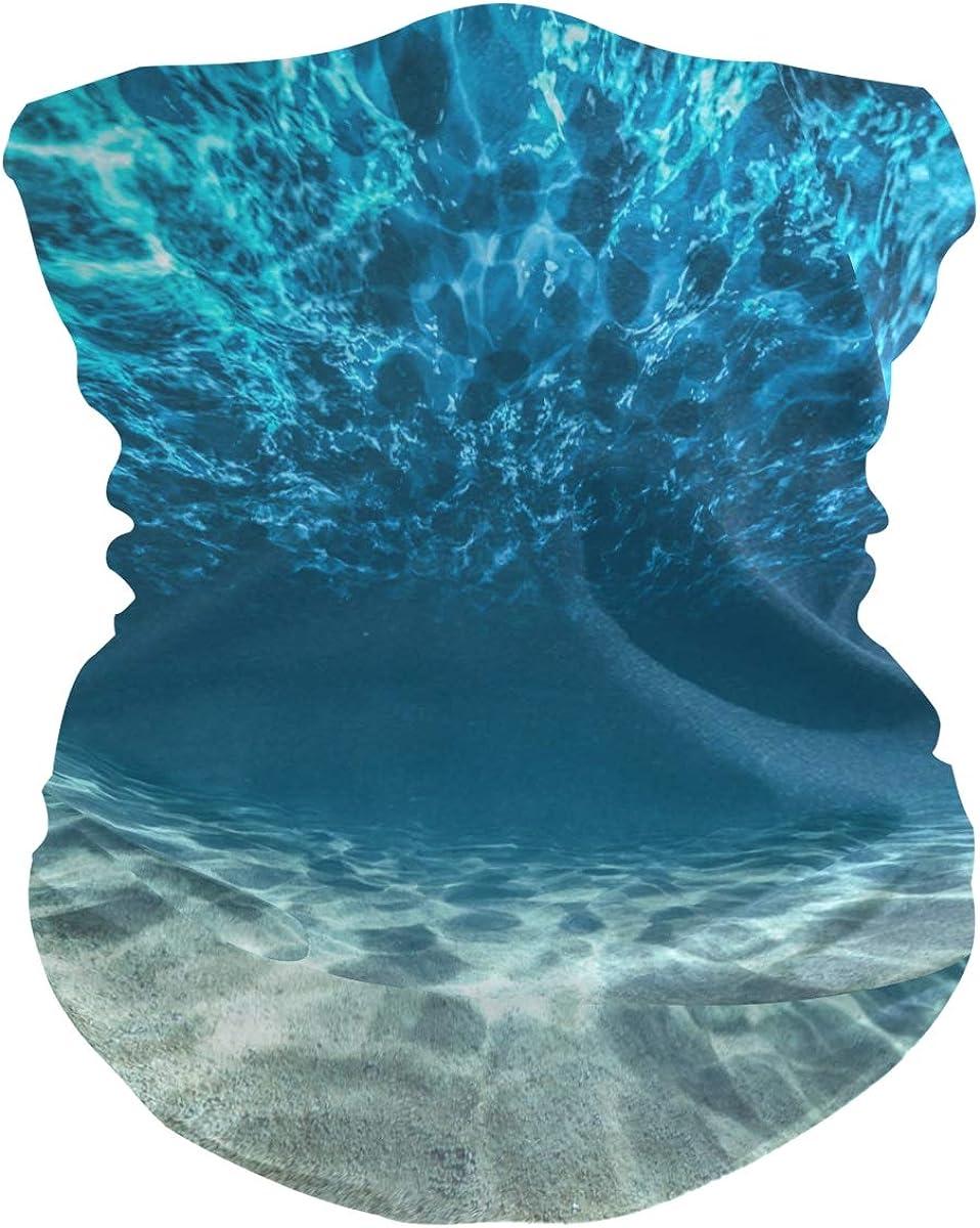 Unimagic depot Face Mask Ocean Superlatite Underwater Ne Men Women Bandana Pattern