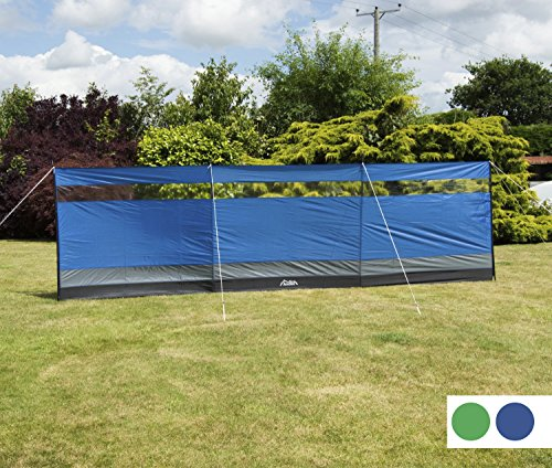 Andes Large Blue Camping Windbreak Beach Windshield Shelter With Top Window