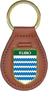 Rubio Family Crest Coat of Arms Key Chains