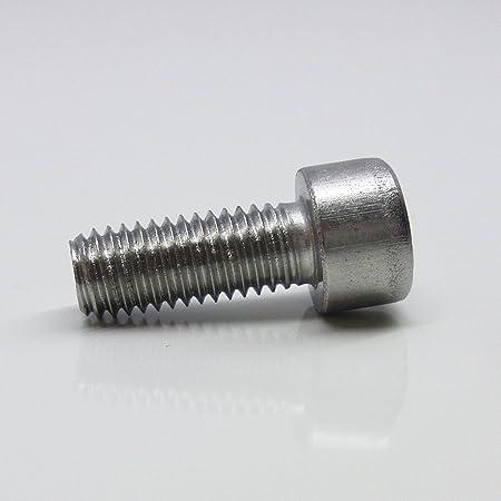 Zylinderschrauben mit Innensechskant D2D Zylinderkopfschrauben Edelstahl A2 V2A M4 x 5 VPE: 10 St/ück DIN 912