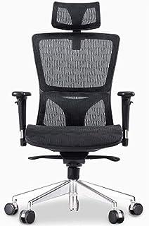 Obrotowe Krzesło Biurowe Executive Mid-Back Black Mesh Obrotowe Ergonomiczne Krzesło Biurowe Do Zadań, Krzesło Do Komputer...