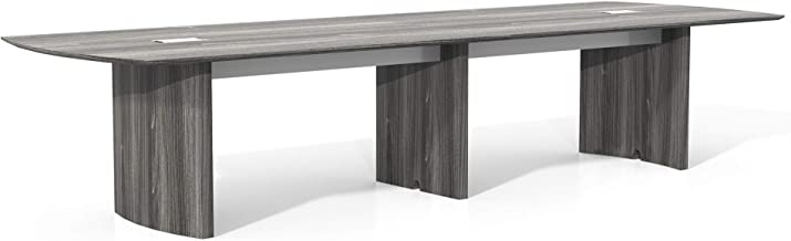 Safco Products Medina Table, 12', Gray Steel