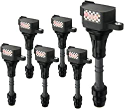 Bravex Premium Ignition Coils for Nissan Altima Maxima Murano Pathfinder Quest 3.5L C1406 UF349 5C1403 (6 Pack) - coolthings.us