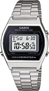 Casio Collection B640WD-1AVEF, Orologio Digitale con LED Luce da Uomo, Argento