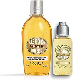 L'Occitane Almond Shower Oil, 250ml, Almond Shower Oil, 35ml Combo