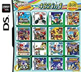 Yaogroo 482 Spiele in 1 NDS Game Pack-Karte Super Combo Game Cartridge für DS 2DS New 3DS XL