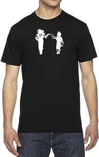 Men's Dragon Vegeta & Goku Fist Bump DBZ T-Shirt