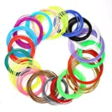 ccbetter 20Pcs 1.75MM ABS 3D Print Filament For 3D Printer Pen, Color Combinations are Random