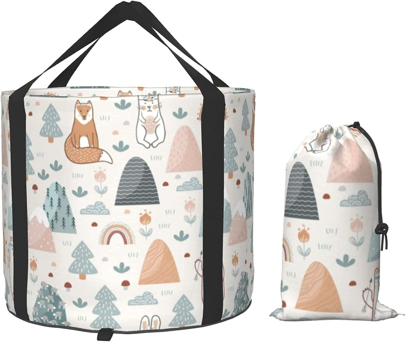 Ranking TOP17 Cute Forest Luxury goods Animals Flowers Bucket Collapsible Multifunctional