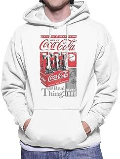 Coca-Cola Retro Bottle Crate Men's Hooded Sweatshirt