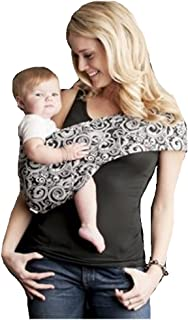Seven Everyday Slings Baby Carrier Sling Color Black/White Indy Size 3/Small