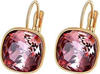 Xuping Boxing Day Luxury Hoop Crystals from Swarovski Fashion Earrings Jewelry Black Friday Gifts