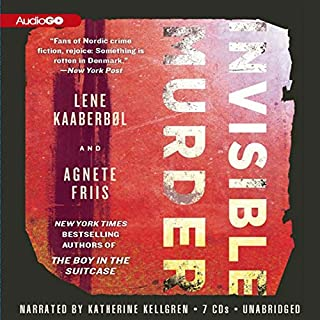 Invisible Murder audiobook cover art