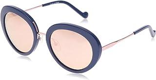 ليو جو نظارة شمسية للنساء، عدسات صفراء - LJ678S