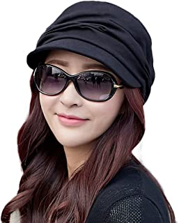 2019 New Womens Newsboy Cabbie Beret Cap Cloche Cotton Painter Visor Hats