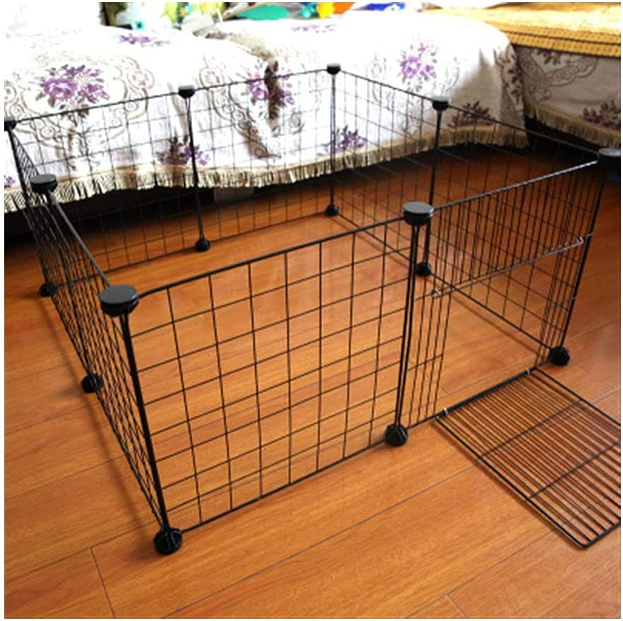 Daily bargain sale NHDY Foldable shopping Pet Playpen Iron Kennel Fence House Puppy Exercise