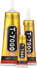 LTKJ Black Industrial Strength Adhesive T-7000 Glue Multi Purpose Liquid Adhesive Epoxy Resin Crafts Glass Touch Screen Cell Phone T7000 Super Glue (110ml)