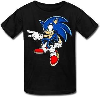 Radyk56rtyh Kid's 100% Sonic Art Assets Dvd Sonic The Hedgehog 16 Quotes T-Shirt