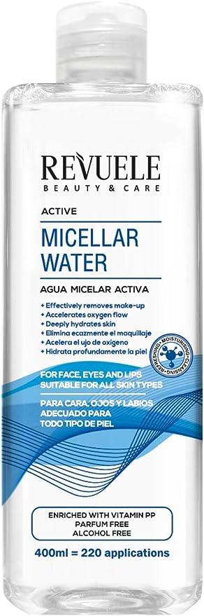 Revuele - Agua Micelar Activa: Amazon.es: Belleza
