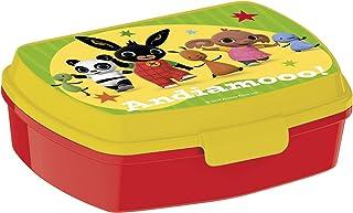 Bing Sandwich box voor kinderen, geel/rood