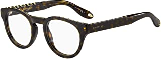 Givenchy GV 0007 086 Studed Havana Plastic Round Eyeglasses 48mm