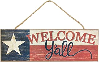 Texas Flag Welcome Y'all Sign - 15