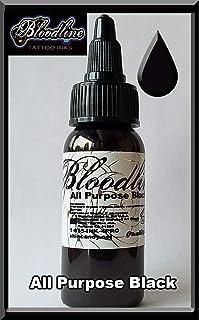 Skin Candy tattoo ink, all purpose black, 1/2oz
