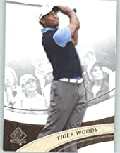 2014 SP Authentic Golf #1 Tiger Woods - PGA Tour Golfer (Sports Trading Cards)