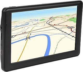 Jacksking Navegação GPS para carro, tela sensível ao toque capacitiva portátil HD de 7 polegadas DDR256M 8GB FM GPS navega...