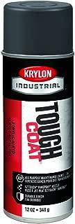 Krylon A00325 Tough Coat Acrylic Enamel, 12 oz, Dark Machinery Gray, Pack of 12