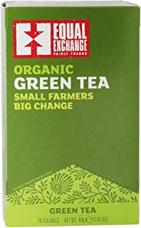 Equal Exchange - Organic Small Farmers Big Change Green Tea - 20 Tea Bags