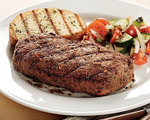 Top Sirloin Steaks, 8 count, 8 oz each from Kansas City Steaks