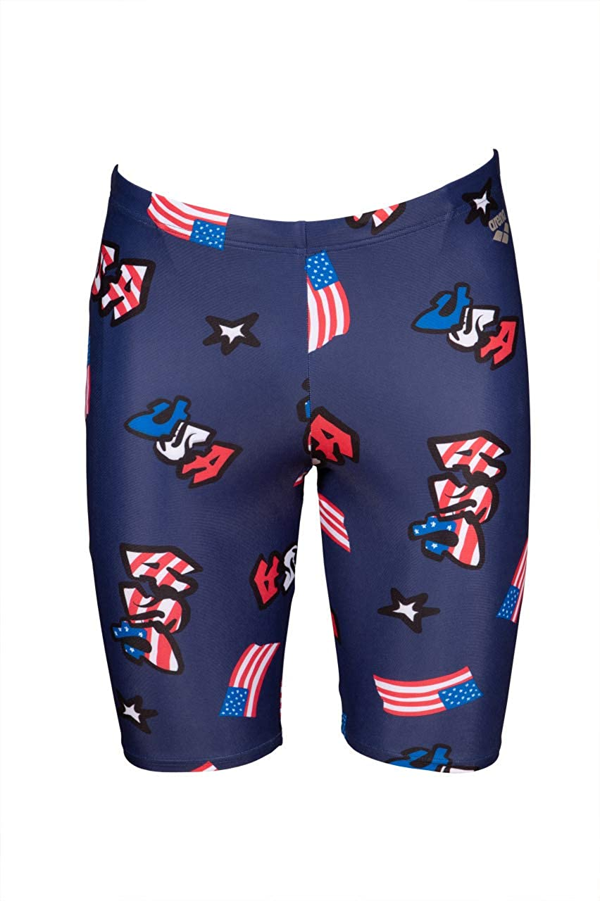 Arena Men's USA Red White and Swi Training Blue Ranking TOP8 Finally popular brand Jammer Athletic