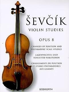 シェフチーク(セヴシック): ポジションの移動と音階の練習 Op.8/ボスワース社/バイオリン教本