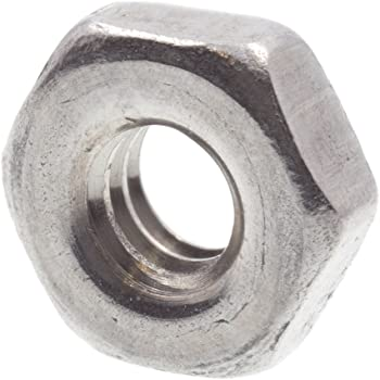 25-Pack Prime-Line 9120305 Machine Screw Hex Nuts Grade A2-70 Stainless Steel Metric M4-0.70