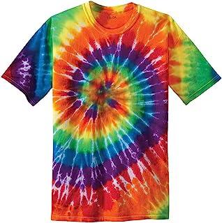 Joe`s USA Kids Short Sleeve Tie-Dye T-Shirts in Sizes XS-XL