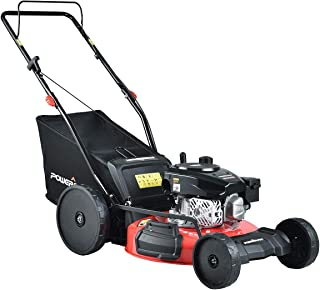 PowerSmart Lawn Mower, 21-inch & 170CC, Gas Powered Self-Propelled Lawn Mower with 4-Stroke Engine, 3-in-1 Gas Mower in Co...