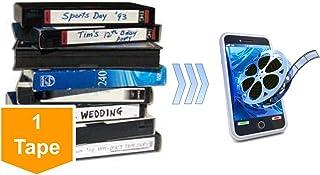 Lotus Media Video Tape Transfer Service, Digitization to MP4 (VHS, VHS-C, Hi8, Video 8, Digital8, 8mm, MiniDV, U-Matic, Be...
