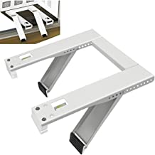 Qualward Window Air Conditioner Brackets AC Support Bracket for 5000 to 12000 BTU Small A/C Units, Heavy Duty with 2 Arms, Up to 105 lbs