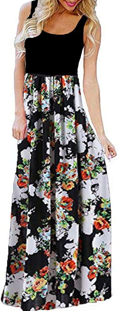 Genuine Maxi Dresses for Women KYLEON Plus Trust Size M Plain Loose Sleeveless