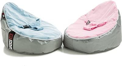 Pouf Daddy Pouf Baby Beanbag, Pink, 60 x 40 x 40 cm