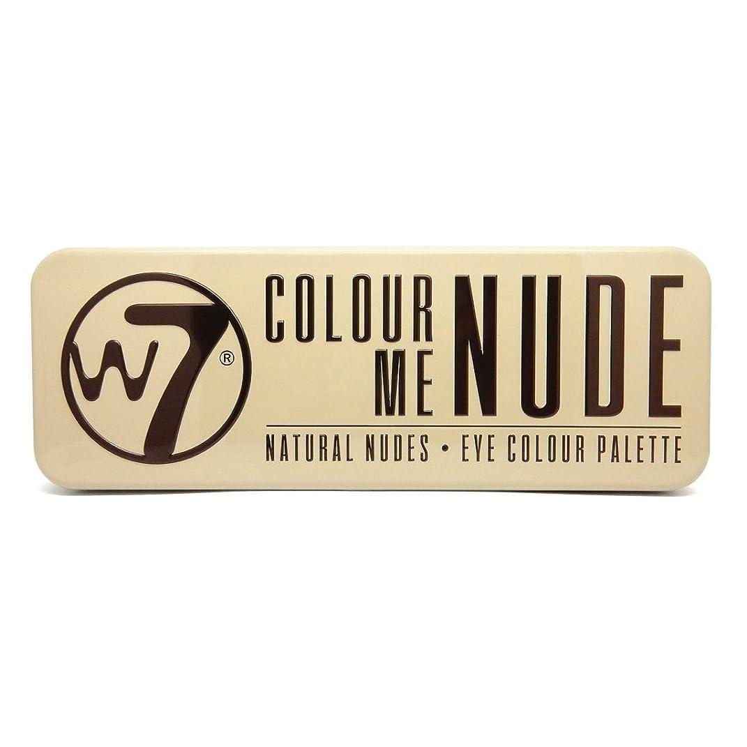 元の道徳の多様体(3 Pack) W7 Colour Me Nude Natural Nudes Eye Colour Palette (並行輸入品)