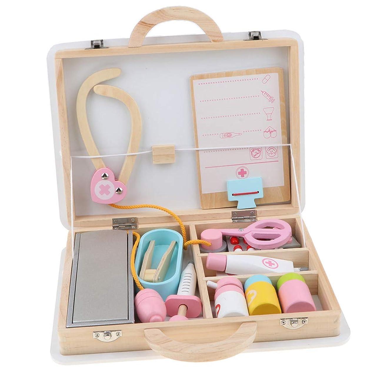 ベーリング海峡呼び出すベールTachiuwa お医者さんごっこ 15点セット びょういん 木製 知育玩具 おもちゃ ドクター 女の子 プレゼント