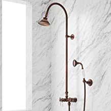 Signature Hardware 902867 Exposed Shower System with Shower Head and Handshower
