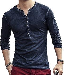 1d643fa7fcf Amazon.es: Cuello mao - Camisas / Camisetas, polos y camisas: Ropa