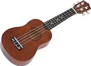 Bolsa Cuerda Bestlymood Ukulele Combo 21 Ukulele Soprano 4 Cuerdas Uke Hawaii Cuerda Bajo Conjunto de Instrumentos Musicales Kits Correa Negro Sintonizador