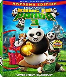 blu-ray cover for Kung Fu Panda from Dreamworks and 20th Century Fox