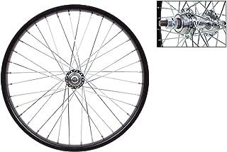 20 Double Wall Rear Hub CNC DA-17 Alloy X 1 ⅛ Wheels inch Includes Quick Release Skewer 14 Gauge Spokes X 20H BIRIA Bicycle Wheels Weinmann Front Hub