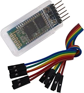 DSD TECH HC-05 Classic Bluetooth 2.0 Serial Wireless BT Module for Arduino UNO R3 Nano Pro Mini MEGA (Basic Version)